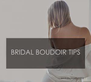 Bridal Boudoir Photography tips